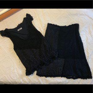 Moschino 2-Piece Top & Skirt